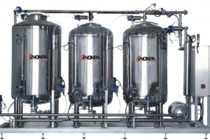 Inoxpa CIP skid mounted units