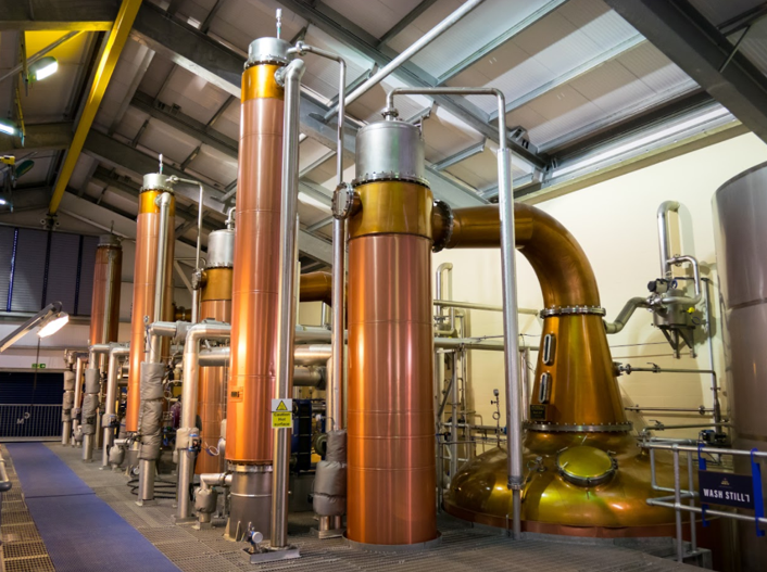 Distilling equipment