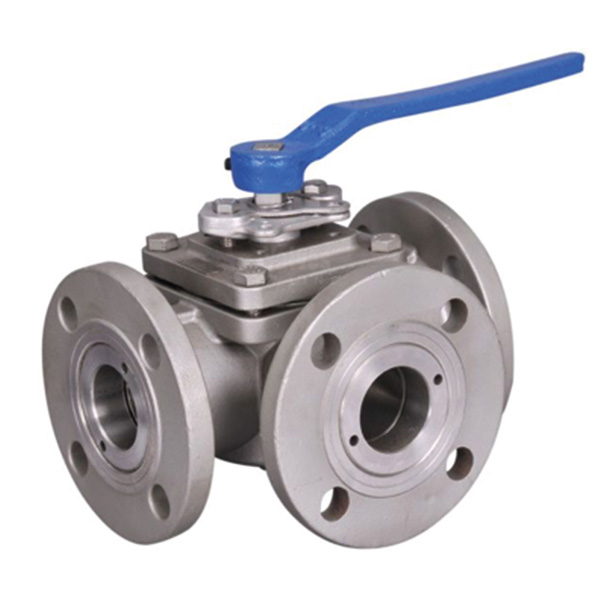 Flanged Stainless-Steel Ball Valves