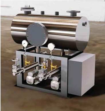 condensate recovery steam skid system2