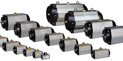 MT Series rack and pinion actuators