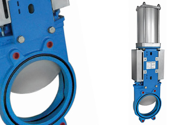 Types of knife gate valve